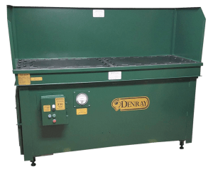 "Denray 28"" x 72"" Down Draft Grind Table, 2872G"