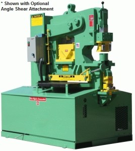 Uni-Hydro 105 Ton Ironworker, Pro 105