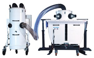 Rozzelli 5.5 HP Industrial Metal Chip Collection System, 600 - 400 - MPR - 453