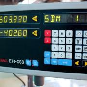 "Acer 1440V E-Lathe 14"" x 40"" High Speed Precision Lathe, 2-Axis DRO & Constant Surface Speed"