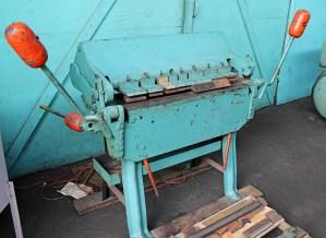 Chicago 3' x 14 Gauge Box and Pan Brake
