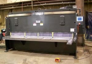 """Standard Industrial 10' x 3/8"""" Hydraulic Shear, AS375-10"""