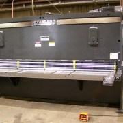 """Standard Industrial 10' x 1/4"""" Hydraulic Shear, AS250-10B"""