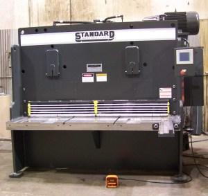 """Standard Industrial 6' x 3/8"""" Hydraulic Shear, AS375-6"""