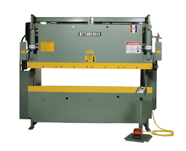 Betenbender 10' x 95 Ton Hydraulic Press Brake