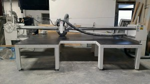 Hendrick 12' Horizontal Panel Saw with Dust Collection System, HPS 150