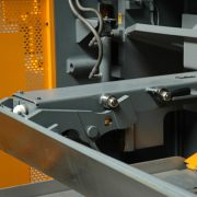 Haco 10′ x 1/2″ Hydraulic Guillotine Shear with 40″ CNC Backgauge, HSL-3013