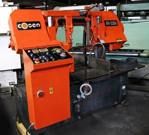 "Cosen AH-320H 12 1/2"" Dual Column Automatic Band Saw"