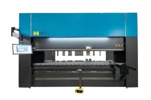 Haco 10' x 220 Ton Multi-Axis Hydraulic CNC Press Brake, ERM 220 10 8