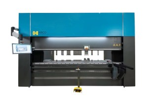 Haco 10' x 220 Ton Multi-Axis Hydraulic CNC Press Brake, ERM 220 10 8