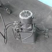 Hossfeld No. 2 Tube & Pipe Bender w/ Hydraulic Cylinder, Large Set of Tooling