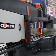 "Cosen 26"" Semi-Automatic Dual Mitering Horizontal Column Band Saw, SH-1100LDM"