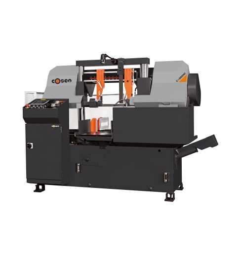 "Cosen 12.6"" Fully Programmable Automatic Horizontal Band Saw, C-320NC"