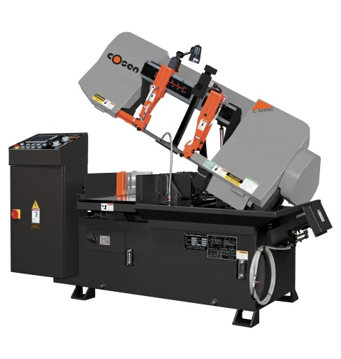 "Cosen 12.8"" Horizontal Numerical Control NC Automatic Band Saw, C-325NC"