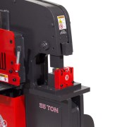 Edwards Pipe Notcher for Ironworkers and Punch Station