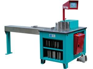 Stierli-Bieger 48 Ton Horizontal Bending and Straightening Machine, 420 CNC