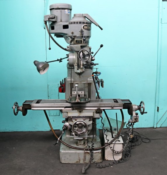 Wells-Index 9″ x 46″ Vertical Milling Machine with X, Y-Axis Powerfeeds