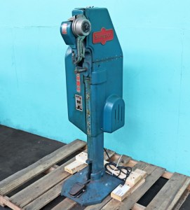 ON HOLD FOR CUSTOMER - Stimpson 489 Foot Power Riveter Machine