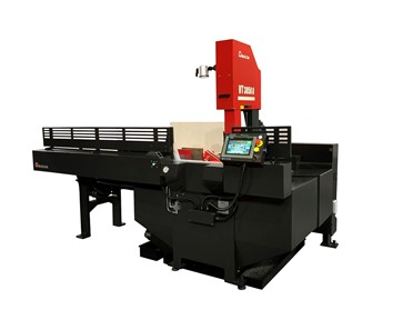 "Amada Marvel 15"" x 20"" Vertical Tilt Frame Band Saw, VT3850A (Formerly 380APC)"