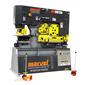 Marvel Spartan 126 Ton Ironworker, MSIW126DX