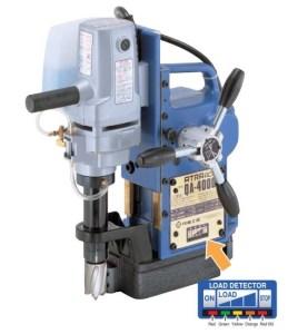 "Nitto Kohki 1 9/16"" x 1 3/8"" Fully Automatic Magnetic Drill, QA-4000"