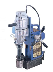 "Nitto Kohki 2 9/16"" x 2"" Fully Automatic Magnetic Drill, QA-6500"