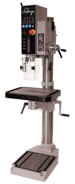 "Solberga 14"" x 20"" Geared Head Drill Press with Power Feed, SE2030PW"