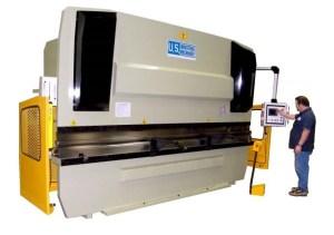 U.S. Industrial 13' x 250 Ton CNC Hydraulic Press Brake, USHB250-13