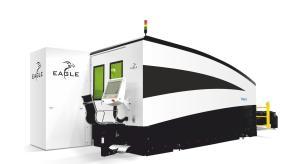 "Eagle iNspire Series 120"" x 61"" Fiber Laser Cutting System, 1530"