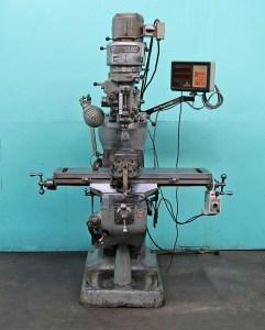 "Bridgeport 9"" x 42"" Vertical Milling Machine with DRO"