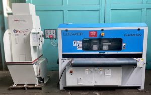 "Loewer 60"" DiscMaster Disc Grinder with Niagara Dust Collector, 4TD-1500 - SALE PENDING"