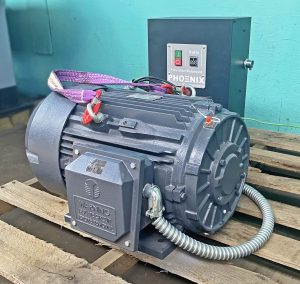 Tech Top 20 HP Rotary Phase Converter, Single Phase to Three Phase