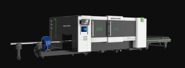Bescutter 'Fly Pro' 5' x 10' 3kW Fiber Laser with Pipe Cutter