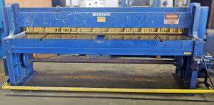 Wysong 8' x 16 Gauge Mechanical Shear, 816