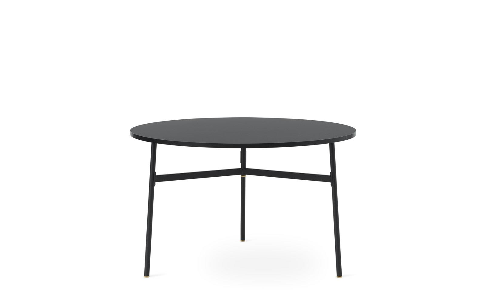 Union Table 120 X H74 5 Cm Black