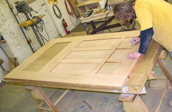 Custom door millwork