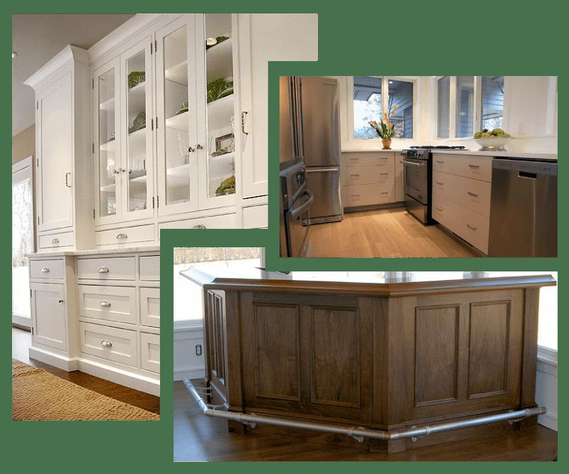 custom furniture and custom cabinets