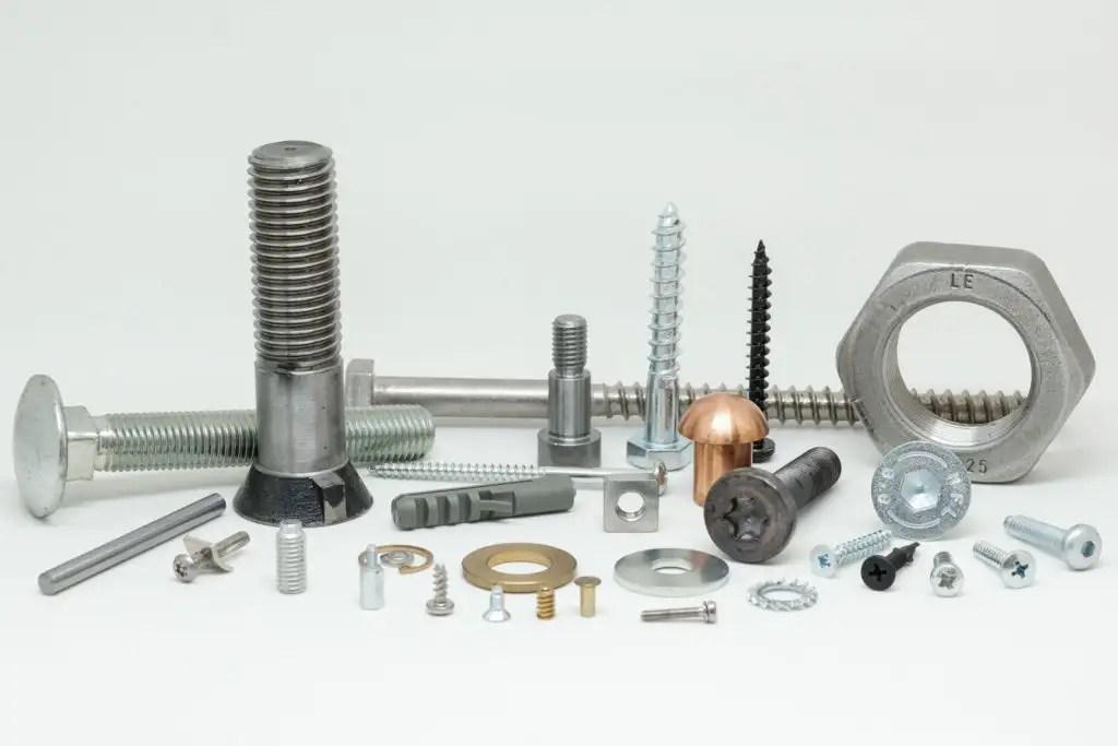 Verschiedene Normteile DIN EN ISO
