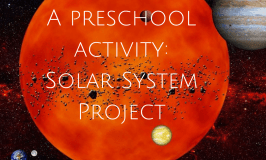 A Preschool Activity: Solar System Project