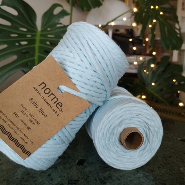 norne® macramé soft 1 Baby Blue
