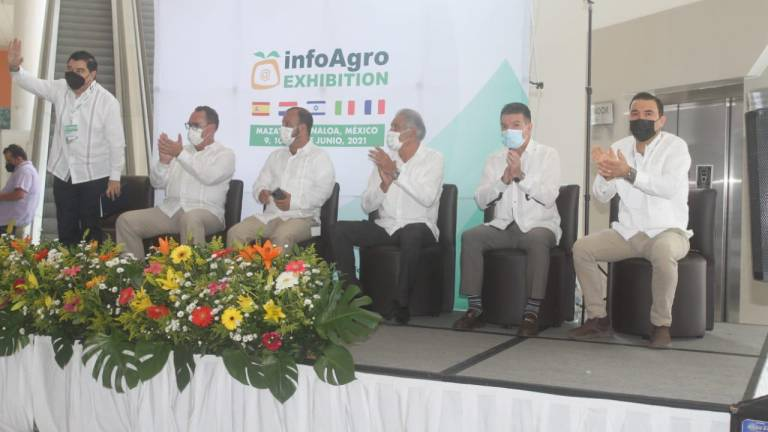 Inauguran InfoAgro Exhibition en Mazatlán