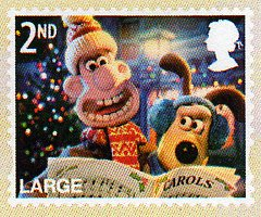 Christmas 2010 With Wallace And Gromit Stamps Of Great