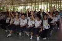 Students of Mechai Pattana Bamboo School in Buriram, Thailand © ADB