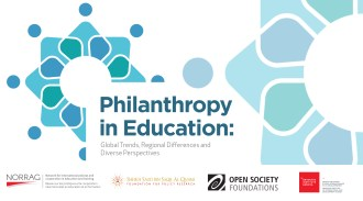 Series Announcement - Philanthropy in Education: Global Trends, Regional Differences and Diverse Perspectives