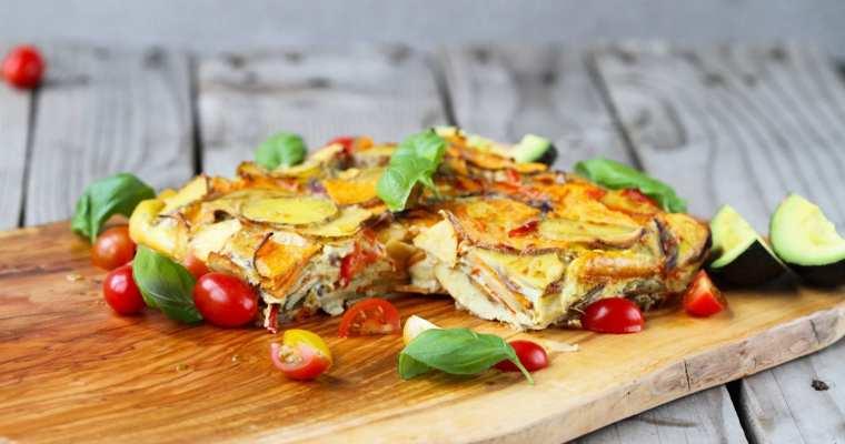 Spansk tortilla – sundere udgave
