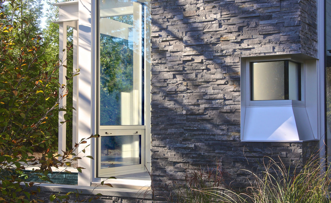 Stone Veneer Siding Exterior Stacked Stone Panels By Norstone