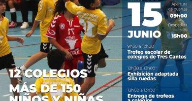 El Club Balonmano Tres Cantos celebra su 30 aniversario