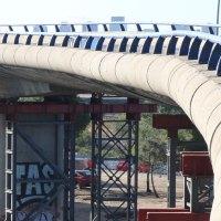 Fomento empezará la próxima semana el desmontaje del tablero del puente de la M-607