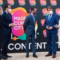 El grupo Secuoya pone en Tres Cantos la primera piedra de las Fases II y III de 'Madrid Content City'