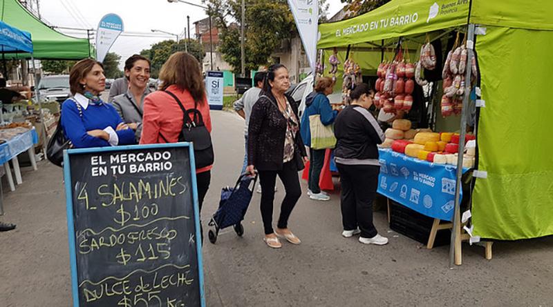 """Cronograma de """"Sí en tu Barrio"""" y """"El mercado en tu Barrio"""""""